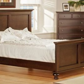 Georgetown Bed with High Footboard (Queen)