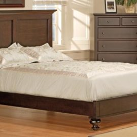 Georgetown Bed with Low Footboard (Queen)