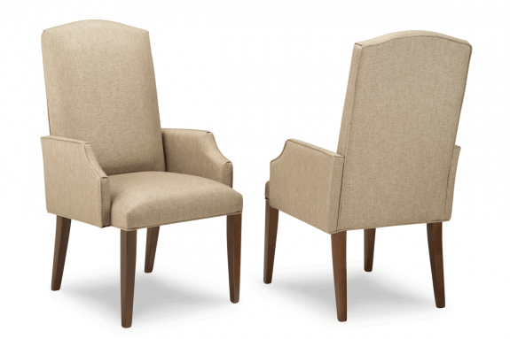 Georgetown Camelback Arm Chair