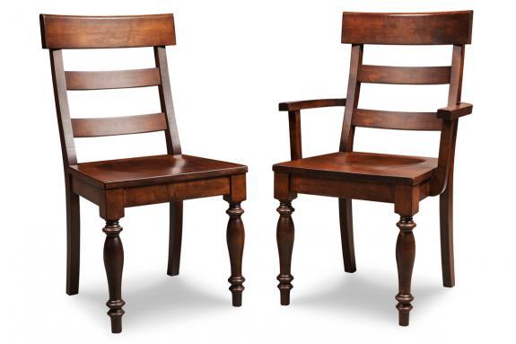 Georgetown Ladderback Dining Chair (Side & Arm)