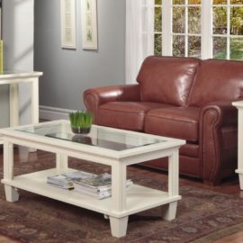 Georgetown Glass Top Occasional Table Set