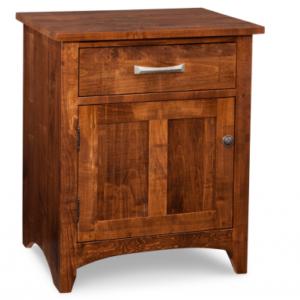 Glengarry 1-Door 1-Drawer Nightstand