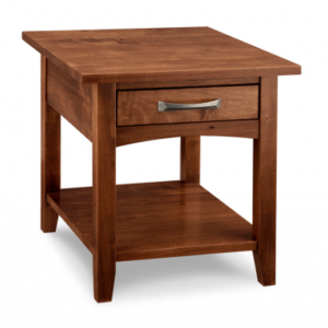 Glengarry 1-Drawer End Table