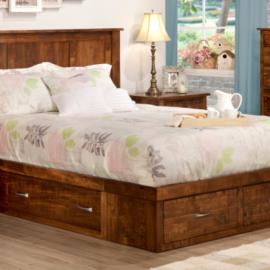 Glengarry 4-Drawer Condo Bed (Queen)