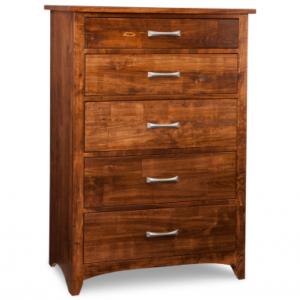 Glengarry 5-Deep Drawer Highboy Chest