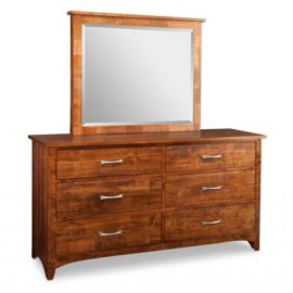 Glengarry 6-Drawer Dresser & Mirror