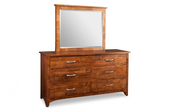 Glengarry 6-Drawer Dresser & Mirror