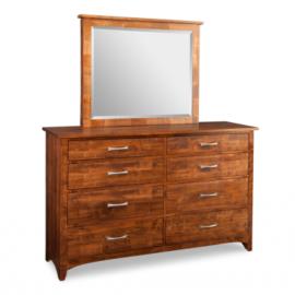 Glengarry 8-Drawer Dresser & Mirror