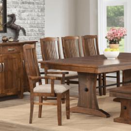 Glengarry Trestle Table Dining Set