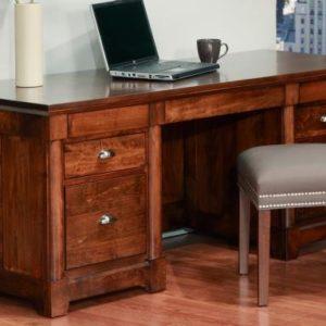 """Hudson Valley 28"""" x 68"""" Executive Desk"""