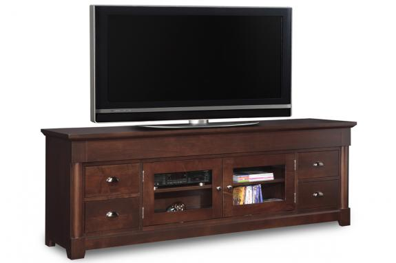 Hudson Valley 84 Quot Tv Stand Contemporary Living Room