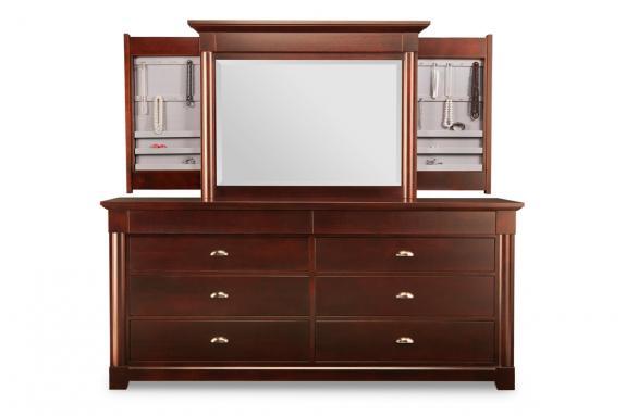 Hudson Valley 8-Drawer Long Dresser | Mennonited Wood Dressers