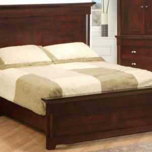 Hudson Valley Bed with Low Footboard (Queen)