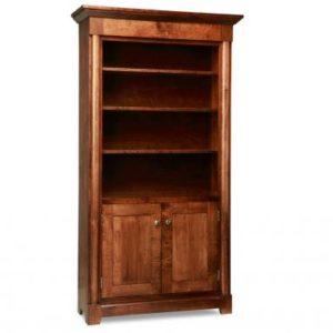 Hudson Valley 2-Door Bookcase