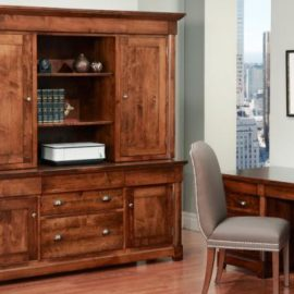 Hudson Valley Credenza with Hutch