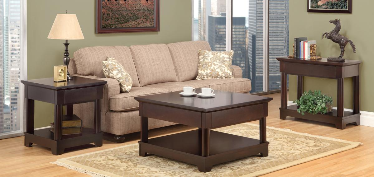 Hudson Valley Occasional Table Set Handstone Living Room Furniture