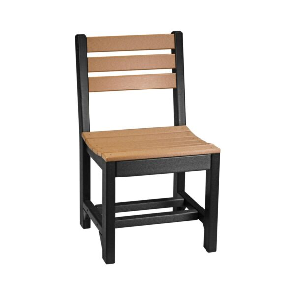 Island Dining Chair - Cedar & Black