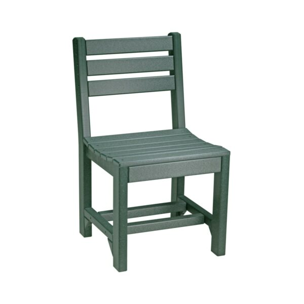 Island Side Chair (Dining Height Shown) - Green
