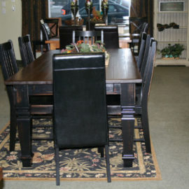 King Farmhouse Dining Set