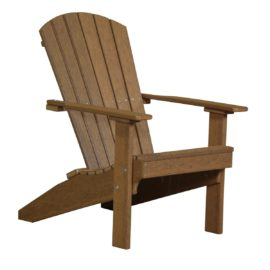 Lakeside Adirondack Chair - Antique Mahogany