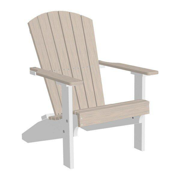 Lakeside Adirondack Chair - Birch & White