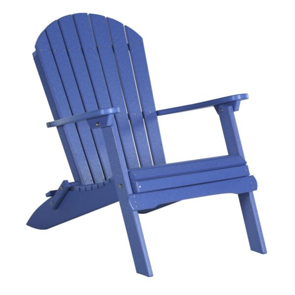 Folding Adirondack Chair - Blue