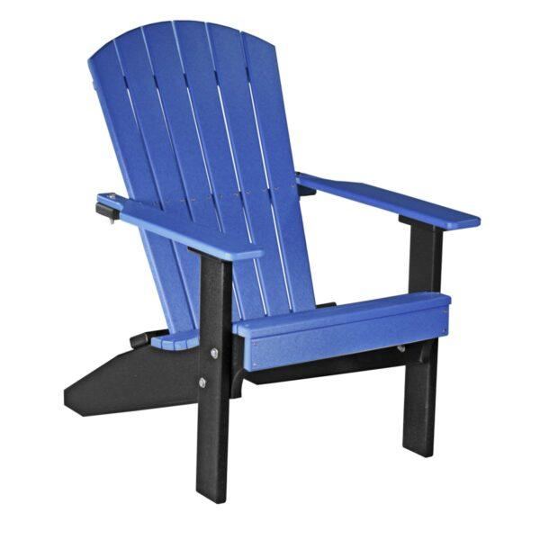 Lakeside Adirondack Chair - Blue & Black