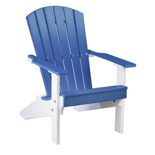 Lakeside Adirondack Chair - Blue & White