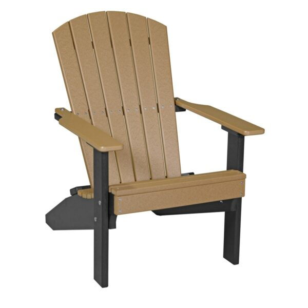 Lakeside Adirondack Chair - Cedar & Black