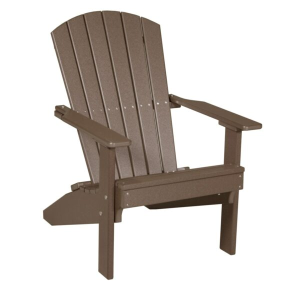 Lakeside Adirondack Chair - Chestnut Brown