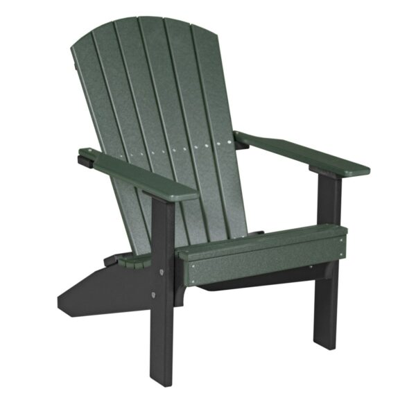 Lakeside Adirondack Chair - Green & Black