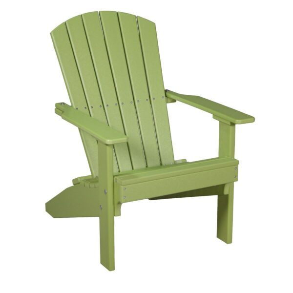 Lakeside Adirondack Chair - Lime Green