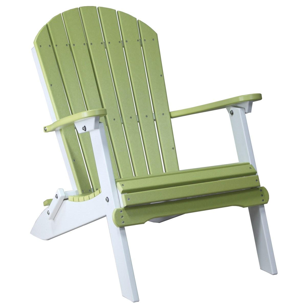 Folding Adirondack Chair Recycled Patio Fine Oak Things