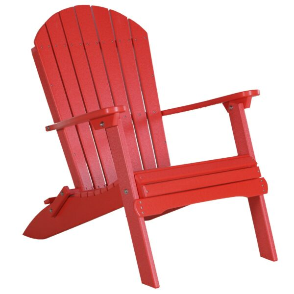 Folding Adirondack Chair - Red