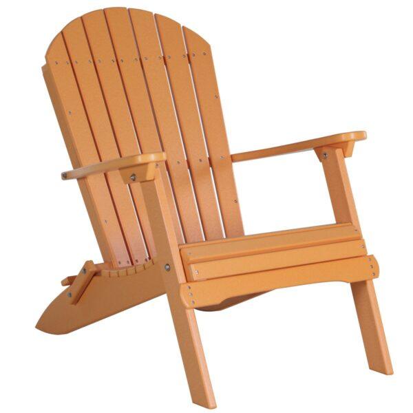 Folding Adirondack Chair - Tangerine