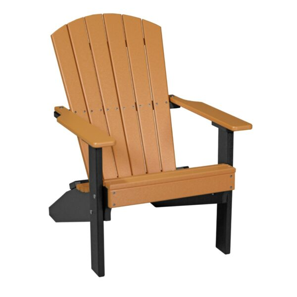 Lakeside Adirondack Chair - Tangerine & Black