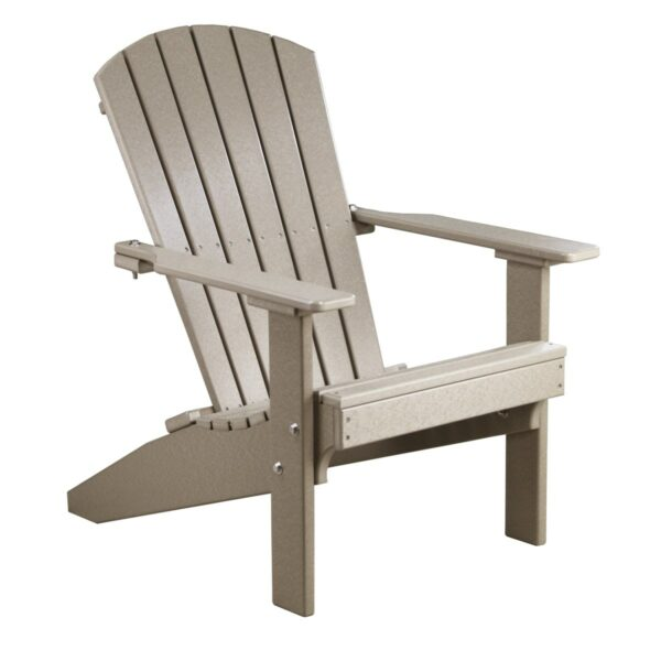 Lakeside Adirondack Chair - Weatherwood