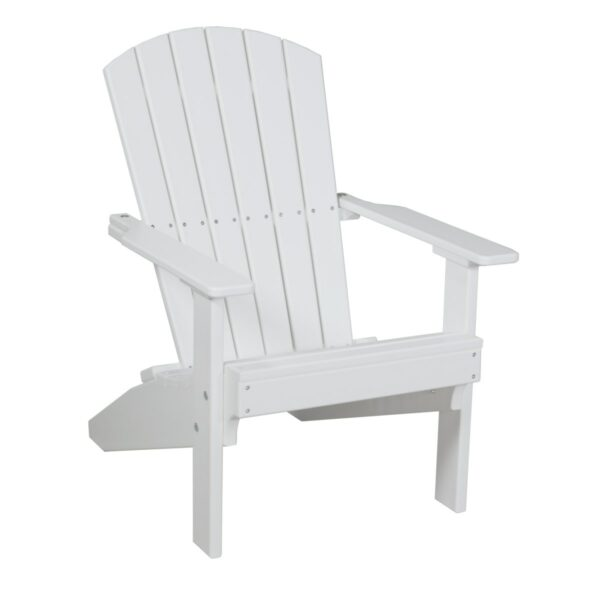 Lakeside Adirondack Chair - White