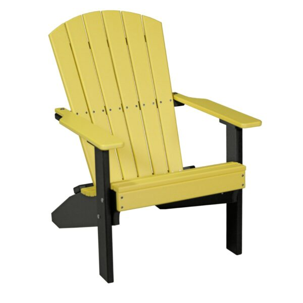 Lakeside Adirondack Chair - Yellow & Black