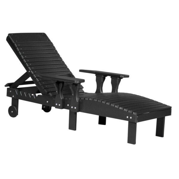 Lounge Chair - Black