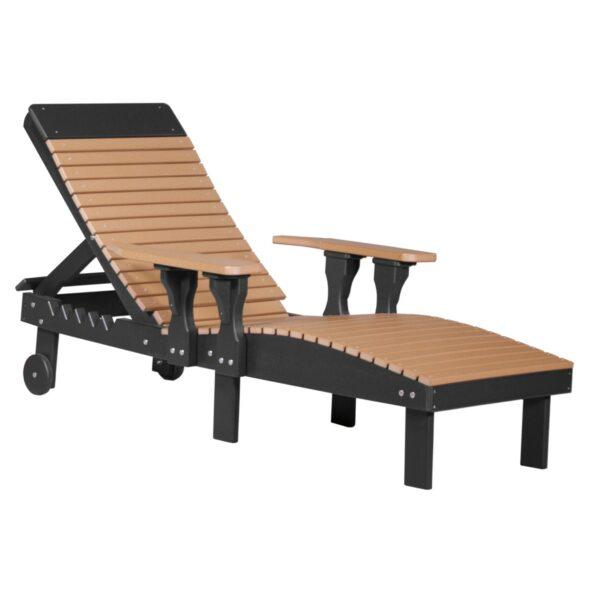 Lounge Chair - Cedar & Black