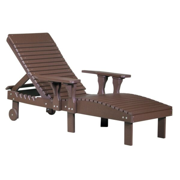 Lounge Chair - Chestnut Brown