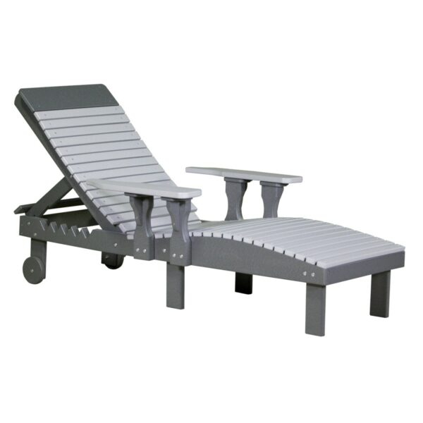 Lounge Chair - Dove Gray & Slate