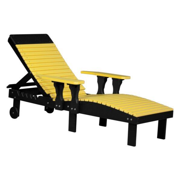 Lounge Chair - Yellow & Black