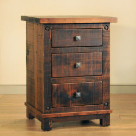 Muskoka 3-Drawer Nightstand