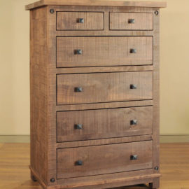 Muskoka 5-Drawer Split Highboy Chest