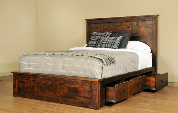 Muskoka 6-Drawer Platform Bed (Queen)