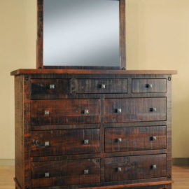 Muskoka 9-Drawer Dresser & Mirror