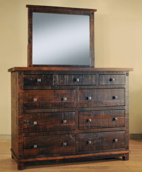Muskoka 9-Drawer Dresser & Mirror