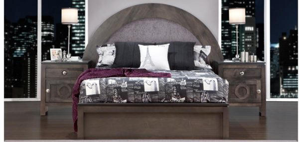 Orlando Half Moon Bedroom Set (Queen)